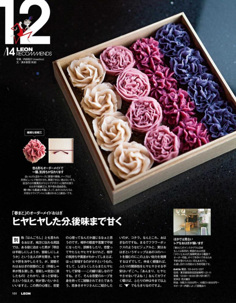 "Fashion Magazine ""LEON""(Food and Journey)"